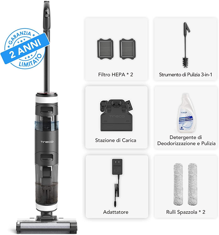 Pavimenti perfettamente puliti con Tineco FLOOR ONE S3, oggi in offerta su Amazon 4