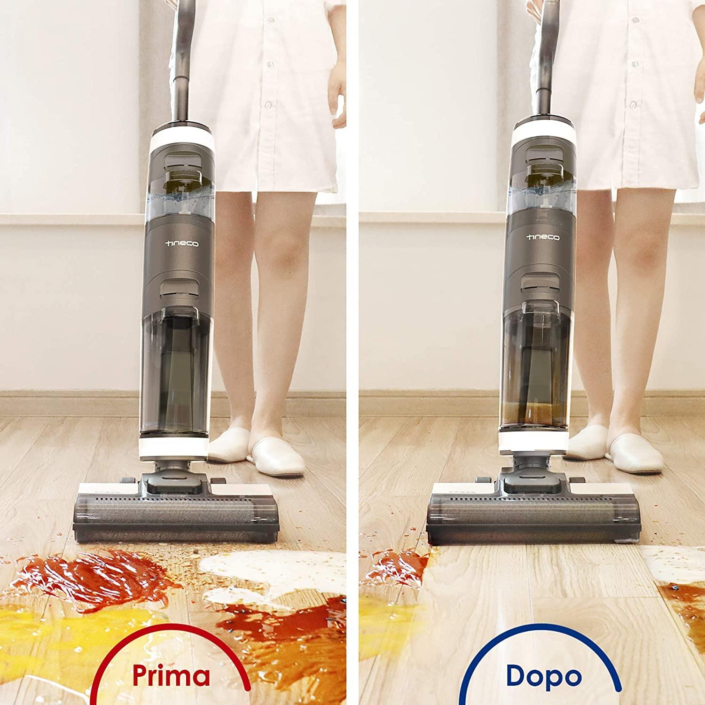 Pavimenti perfettamente puliti con Tineco FLOOR ONE S3, oggi in offerta su Amazon 6