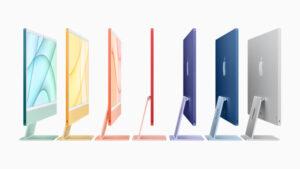 iMac 2021 colori