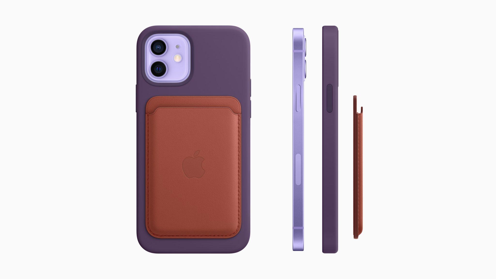 Apple iPhone 12 e iPhone 12 Mini si colorano di viola, ma arrivano anche le nuove cover colorate 1