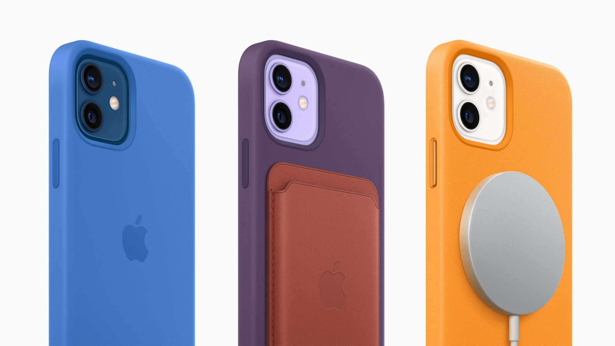 Apple iPhone 12 e iPhone 12 Mini si colorano di viola, ma arrivano anche le nuove cover colorate 2