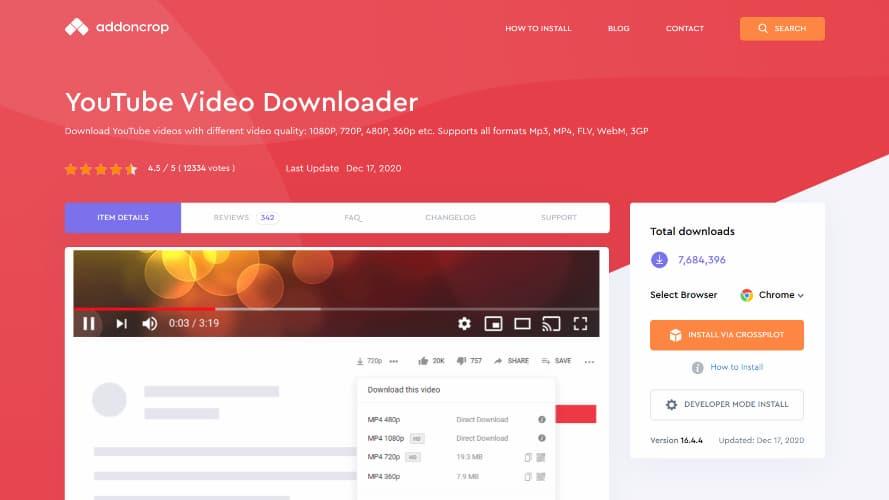YouTube Video Downloader