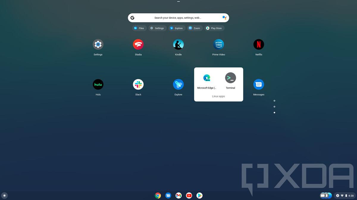 Chrome OS - Microsoft Edge