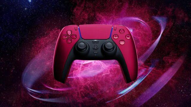 Controller DualSense rosso cosmico