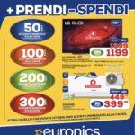 """Euronics ritorna alla carica con il nuovo volantino """"Più prendi, meno spendi"""" 1"""