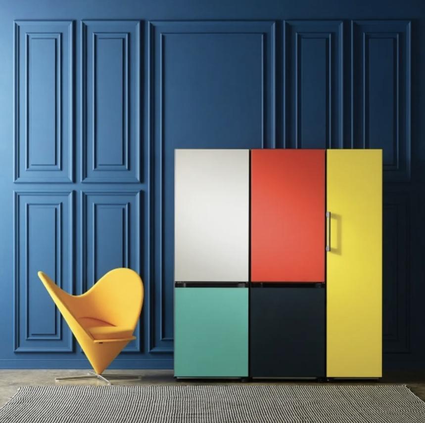 I frigoriferi personalizzabili e super colorati BESPOKE di Samsung arrivano in Italia 1