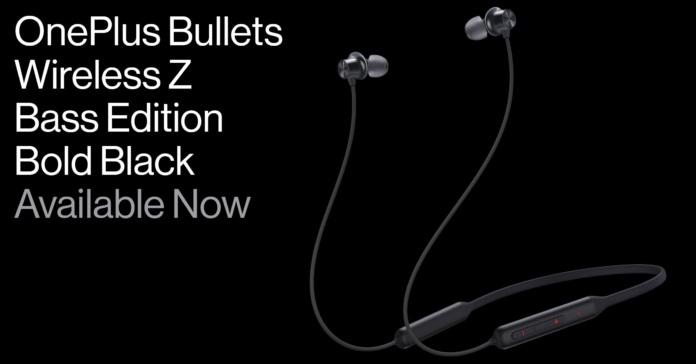 OnePlus Bullets Wireless Z Bass Edition