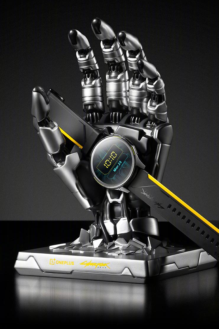 Ecco OnePlus Watch Cyberpunk 2077 Limited Edition 6