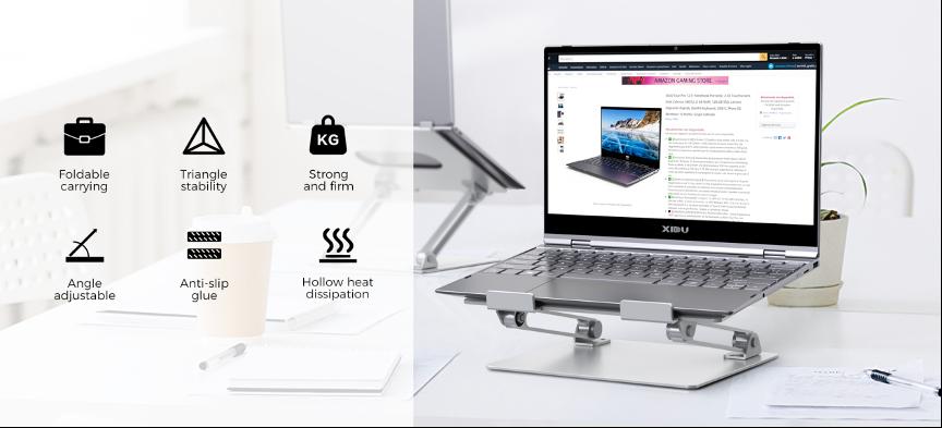 XIDU migliora l'ergonomia con alcuni imperdibili accessori 3