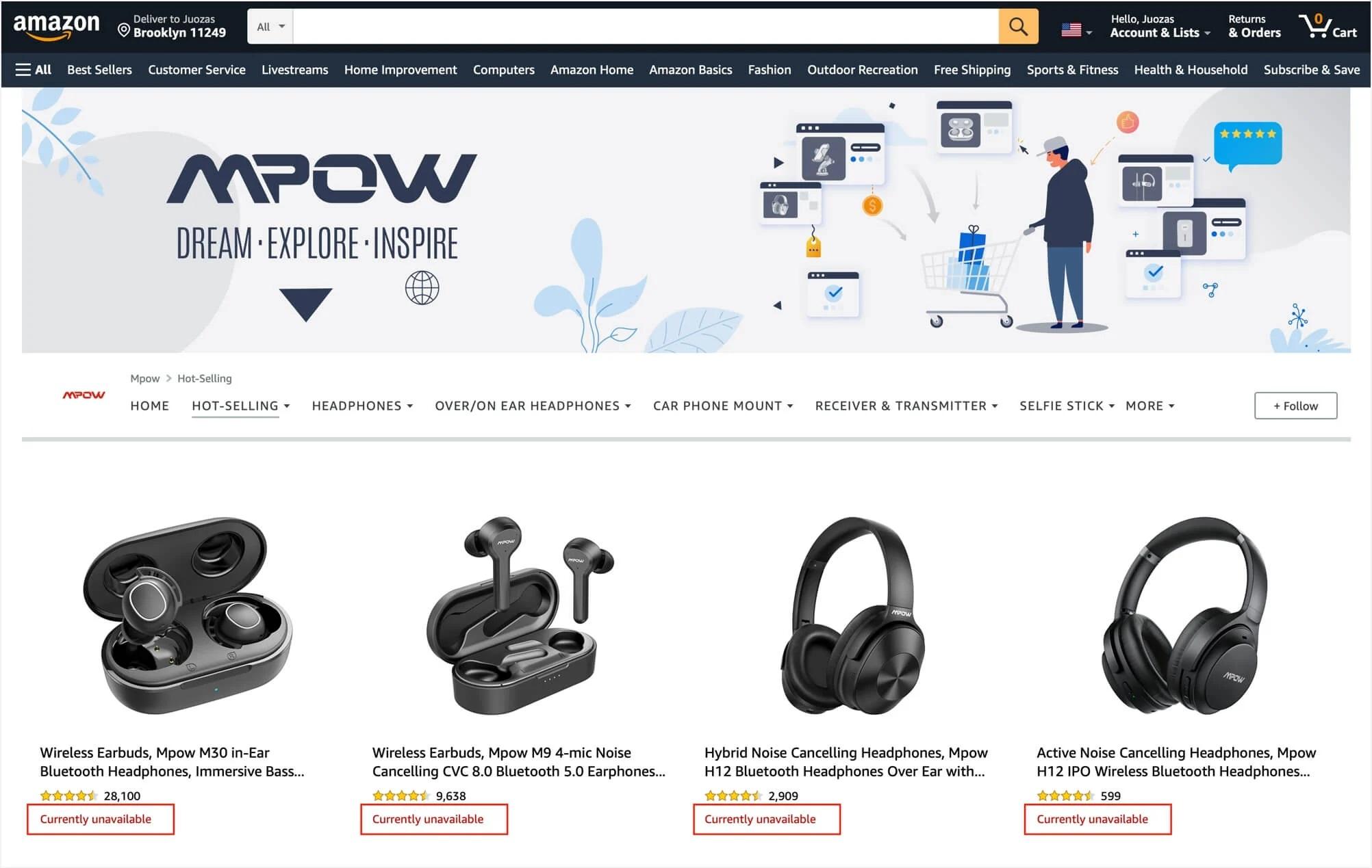 Amazon banna una dozzina di brand cinesi, tra cui Mpow e Aukey 1