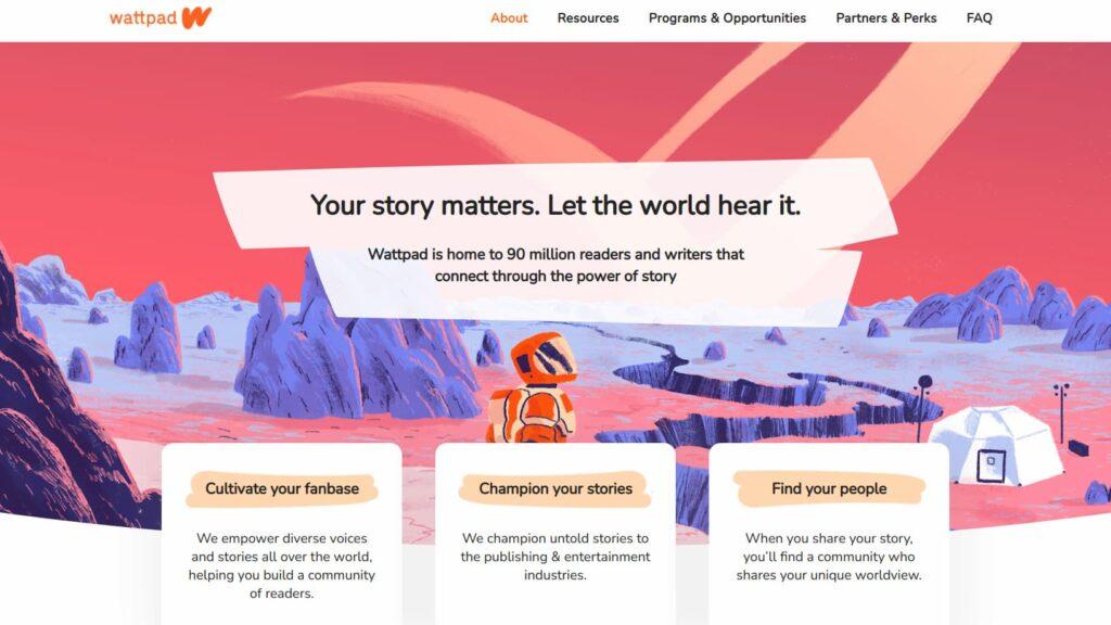 Alla scoperta di Wattpad, la piattaforma social di narrativa più amata al mondo 1