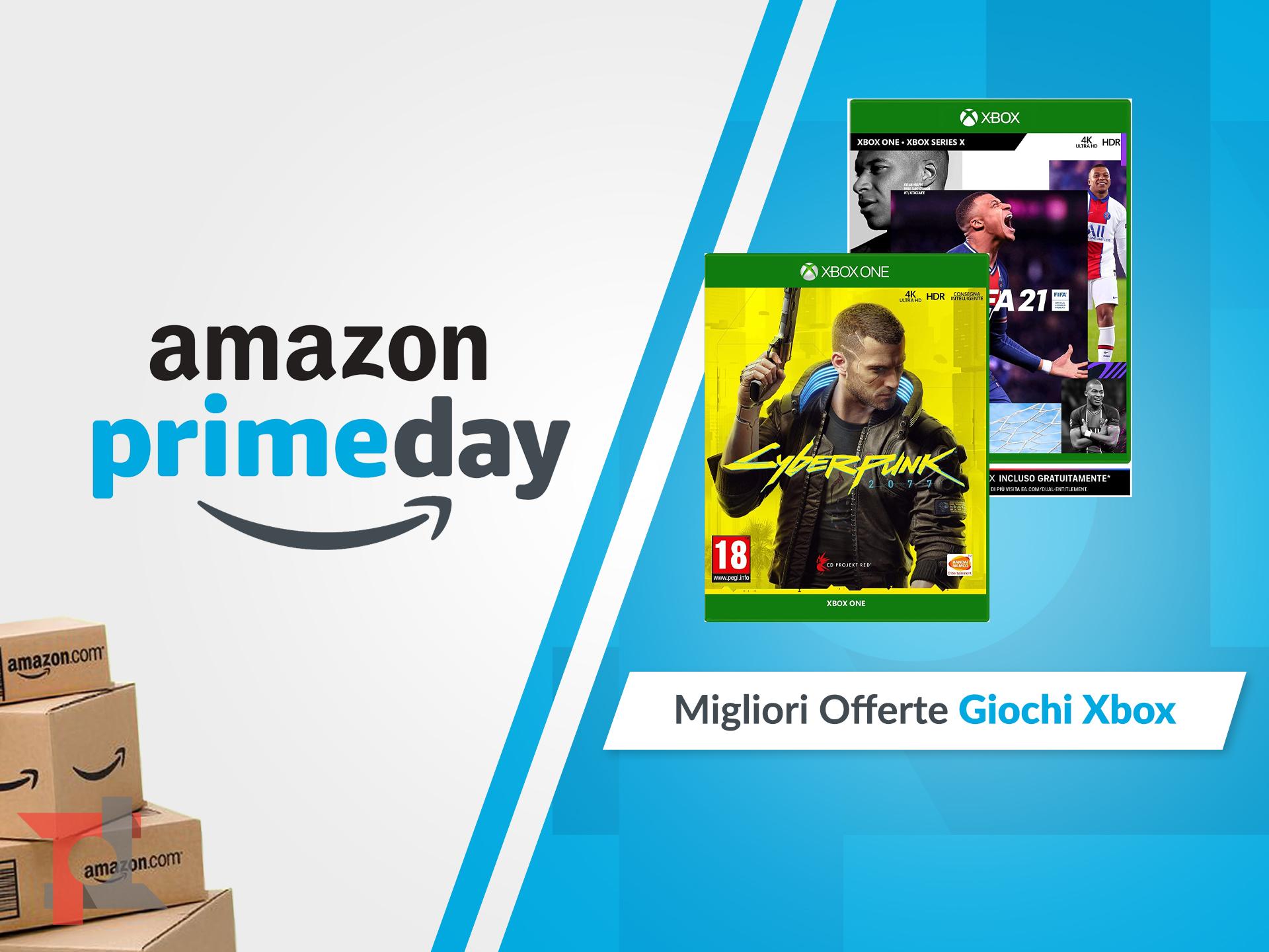 migliori offerte amazon prime day giochi xbox