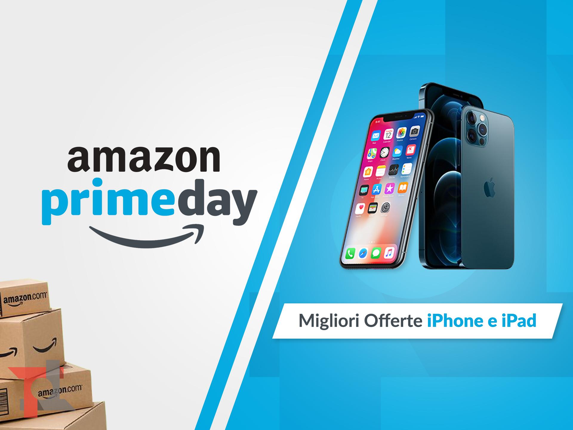 migliori offerte amazon prime day iphone