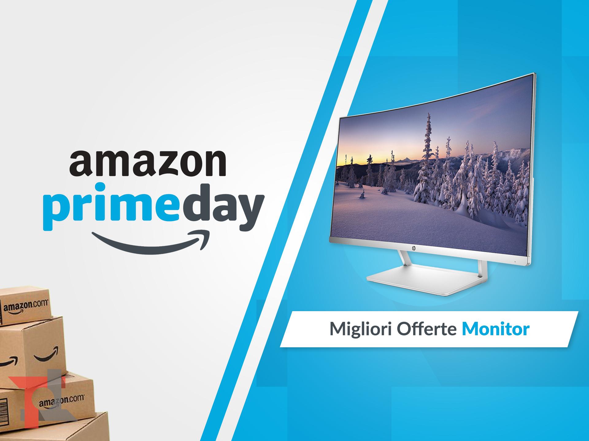 migliori offerte amazon prime day monitor