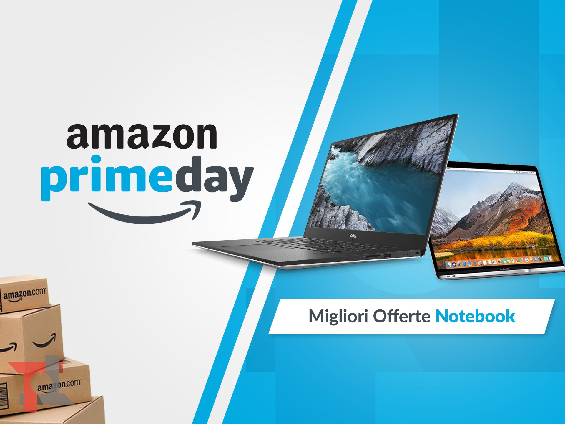 migliori offerte amazon prime day notebook