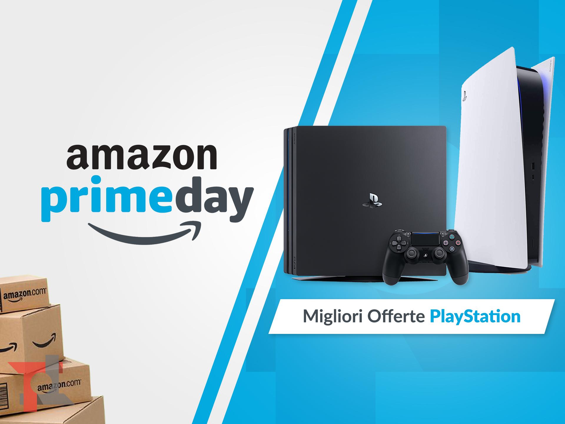 migliori offerte amazon prime day playstation