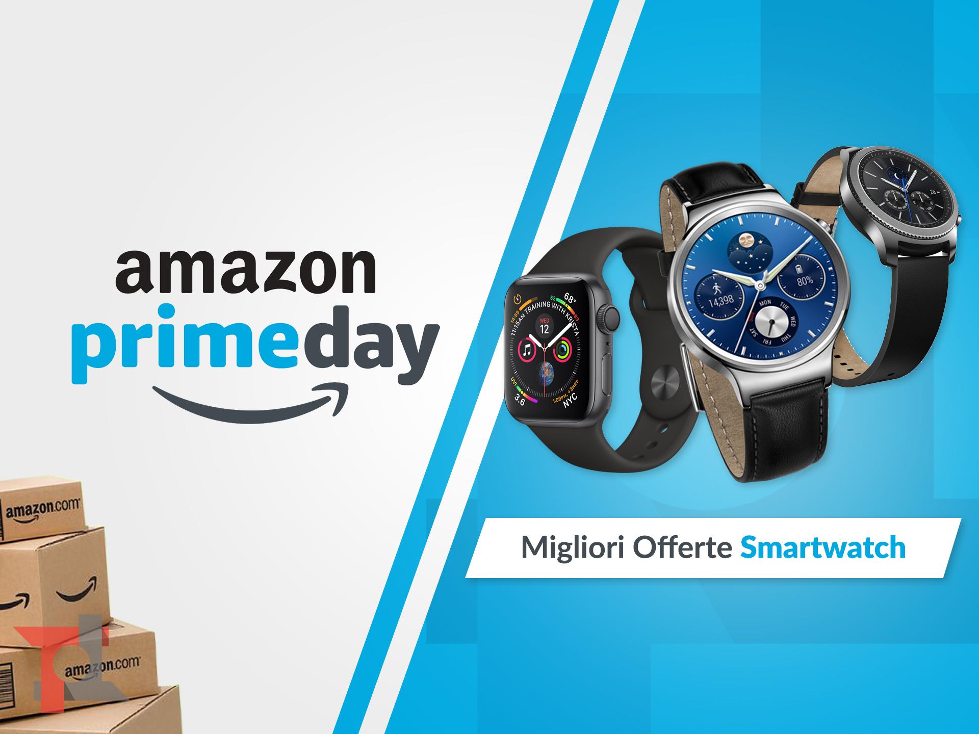 migliori offerte amazon prime day smartwatch