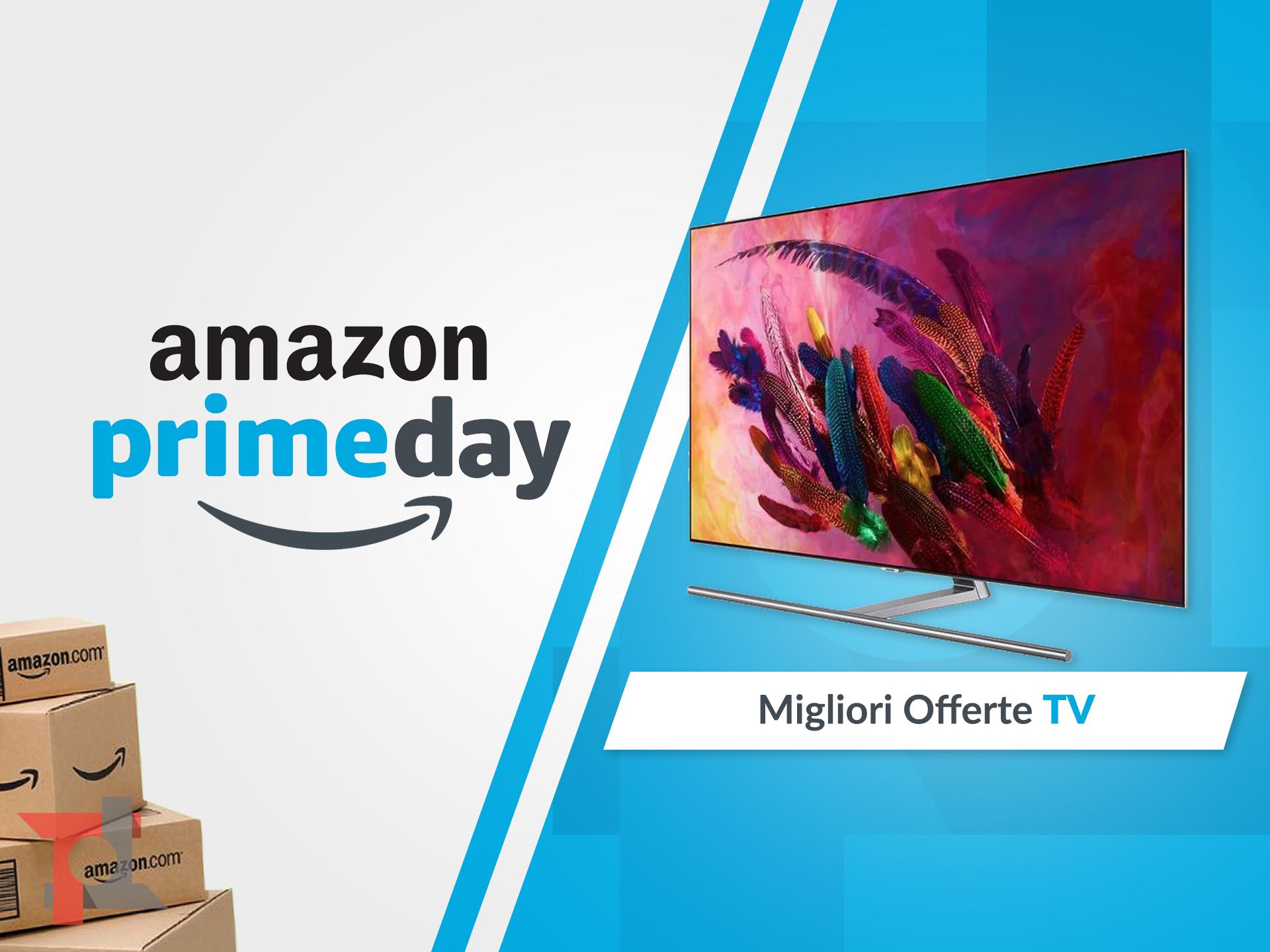 migliori offerte amazon prime day tv
