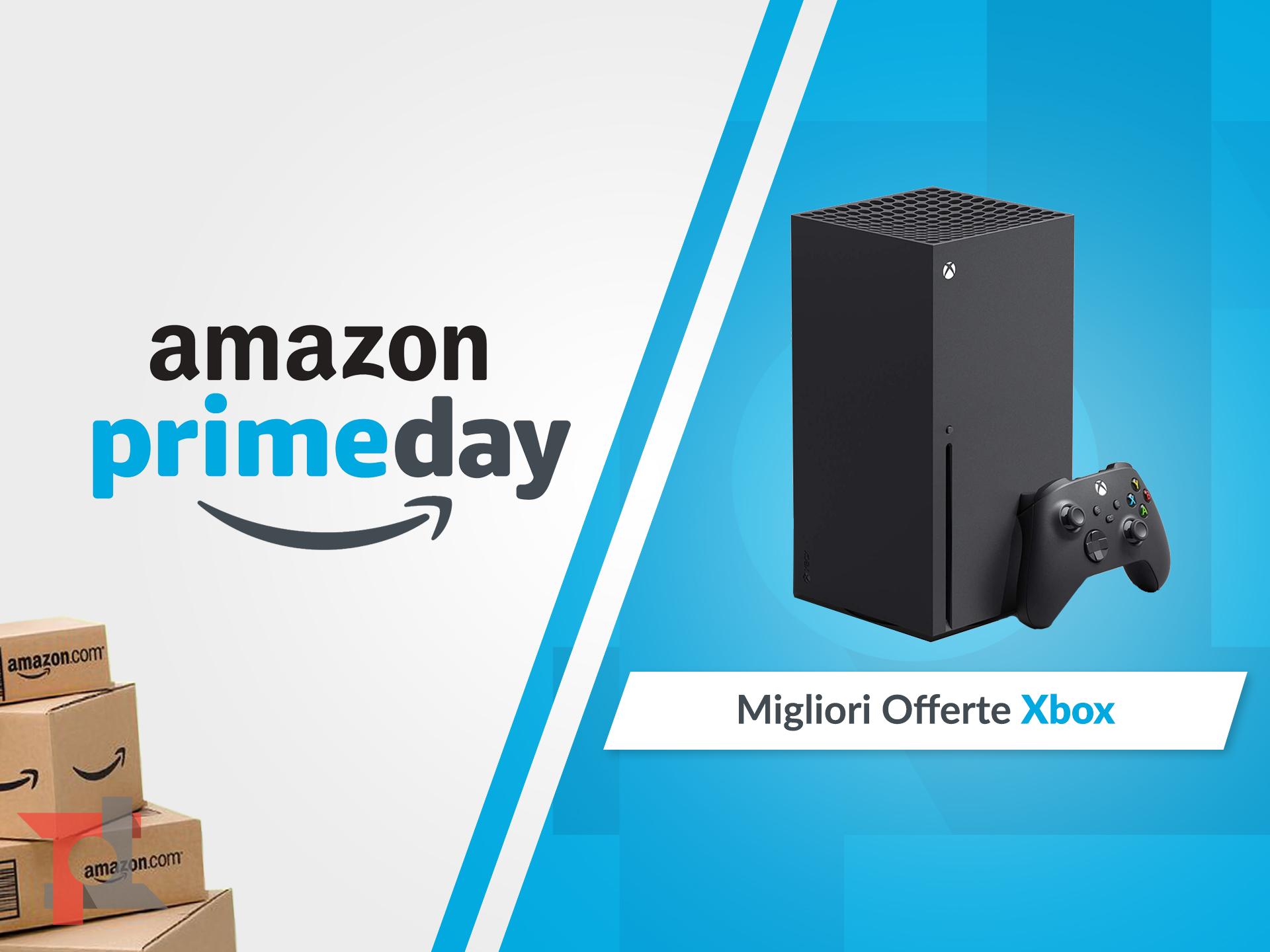 migliori offerte amazon prime day xbox