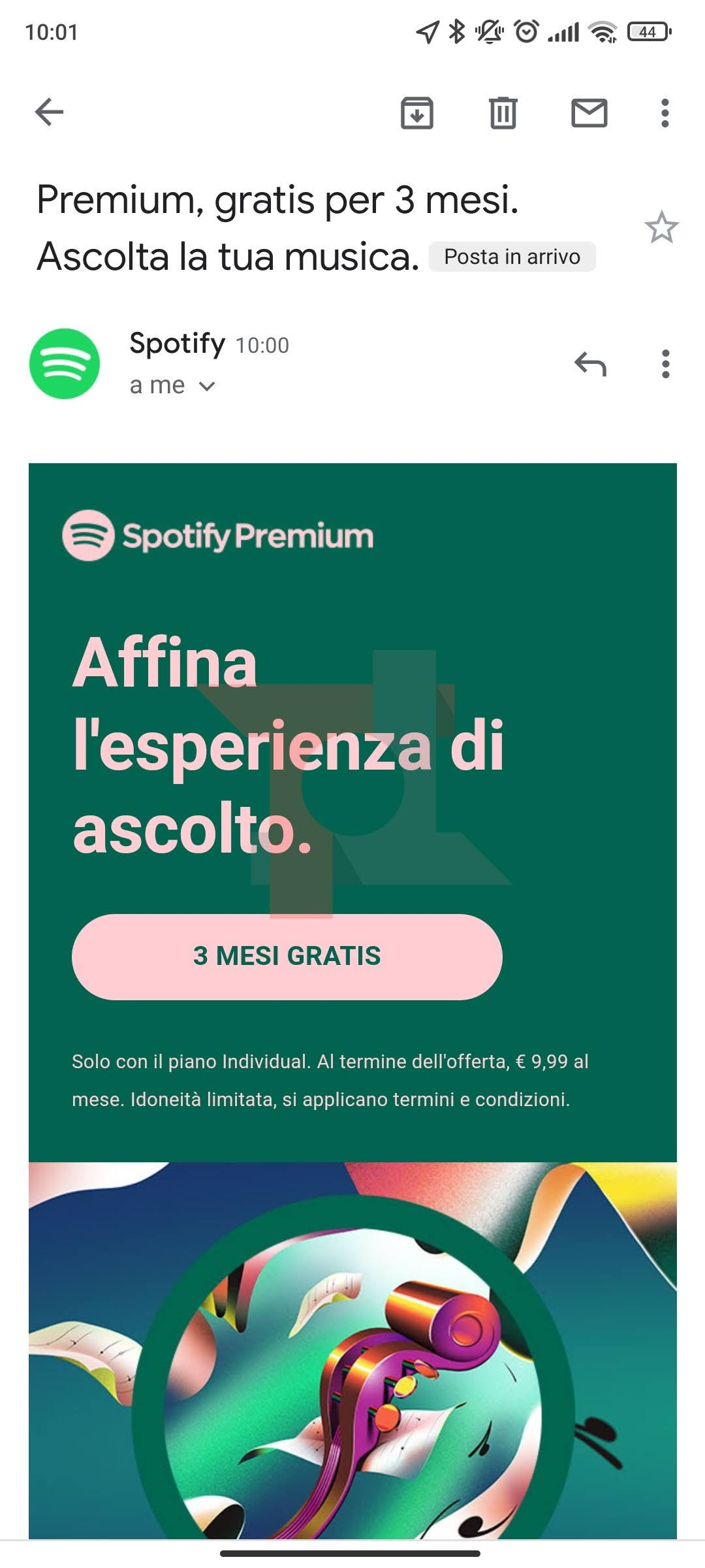 spotify premium promo