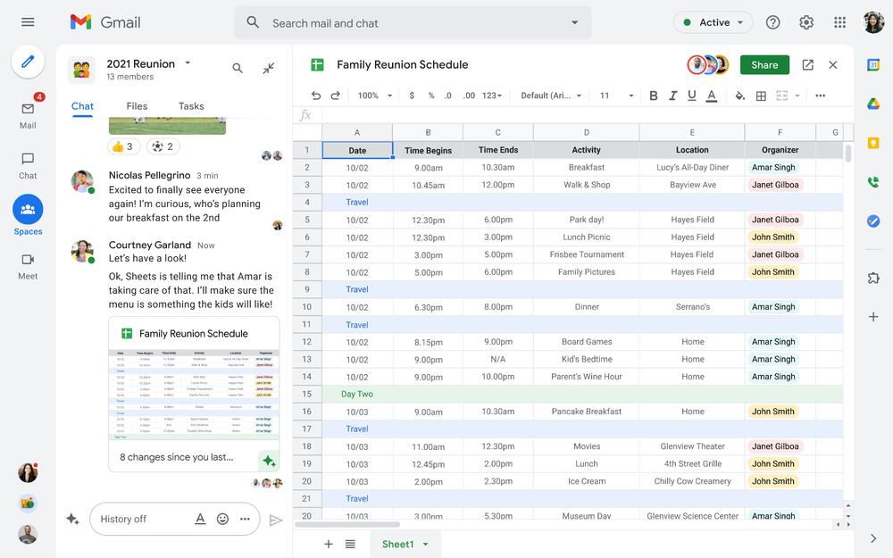 Google rivoluziona tutto: novità per Workspace, Meet, Gmail e Drive 1
