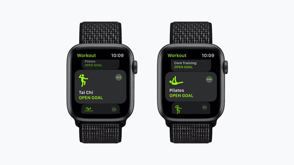 Apple watchOS 8 nuovi allenamenti