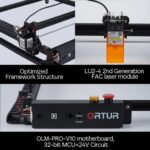ORTUR Laser Master 2 Pro porta l'incisione laser nella case di tutti 3