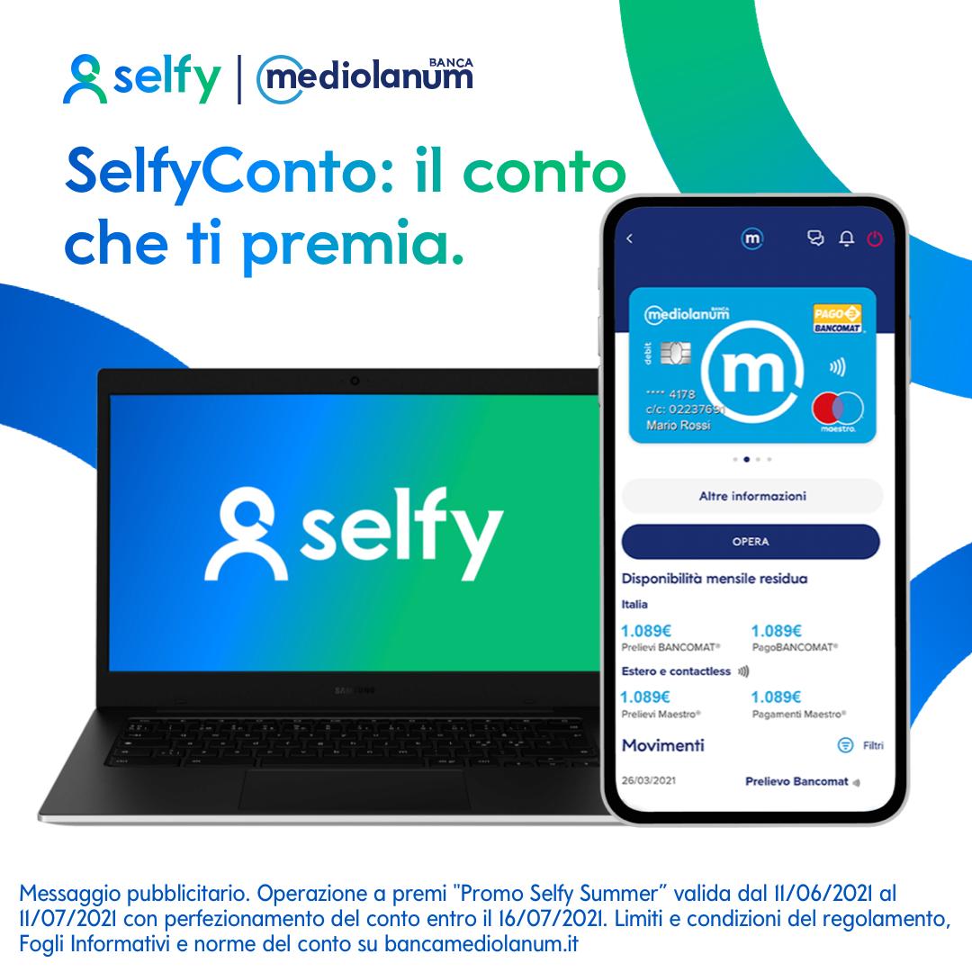Come ricevere un Chromebook in regalo grazie a SelfyConto di Mediolanum 1