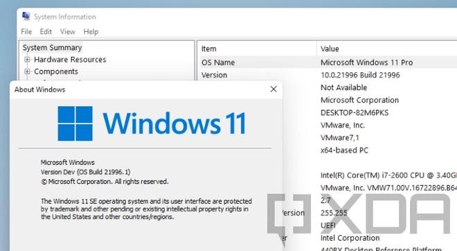 Windows 11 XDA