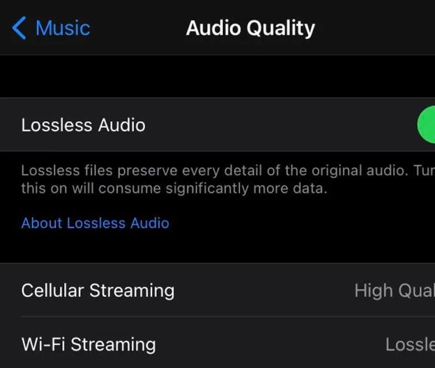 apple music audio lossless 3d rilascio
