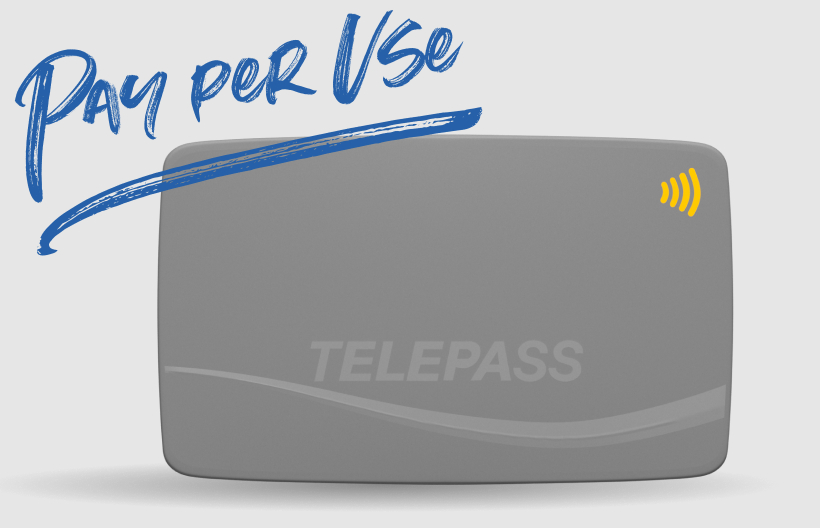 telepass pay per use ufficiale
