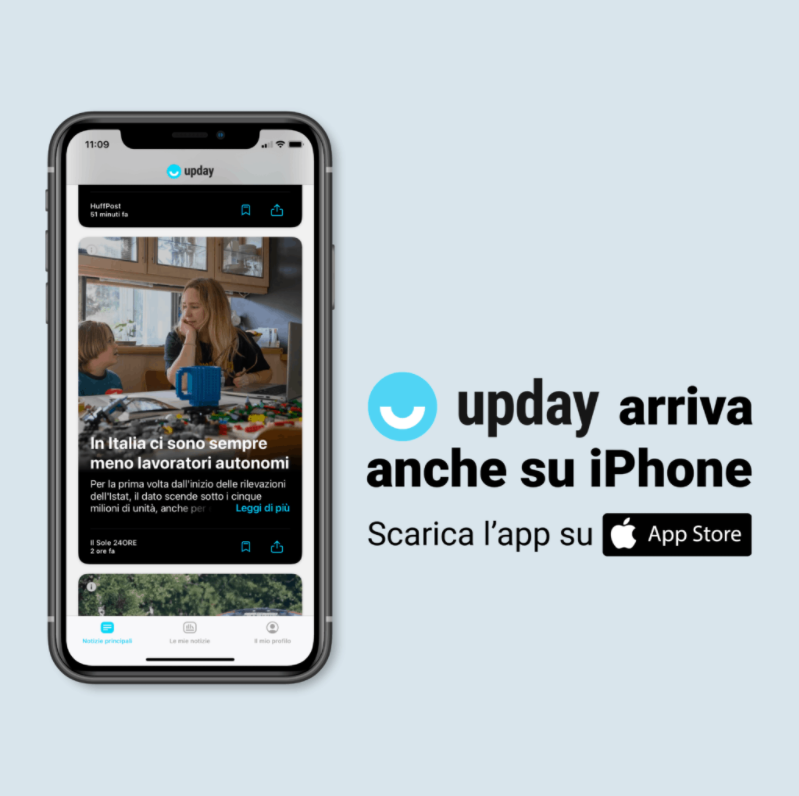 upday su iPhone