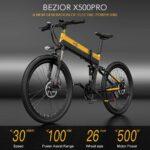 Super prezzo per la e-bike BEZIOR X500 Pro, con 100 Km di autonomia e doppia sospensione 8