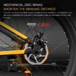 Super prezzo per la e-bike BEZIOR X500 Pro, con 100 Km di autonomia e doppia sospensione 4