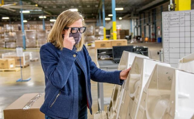Google Meet su Glass