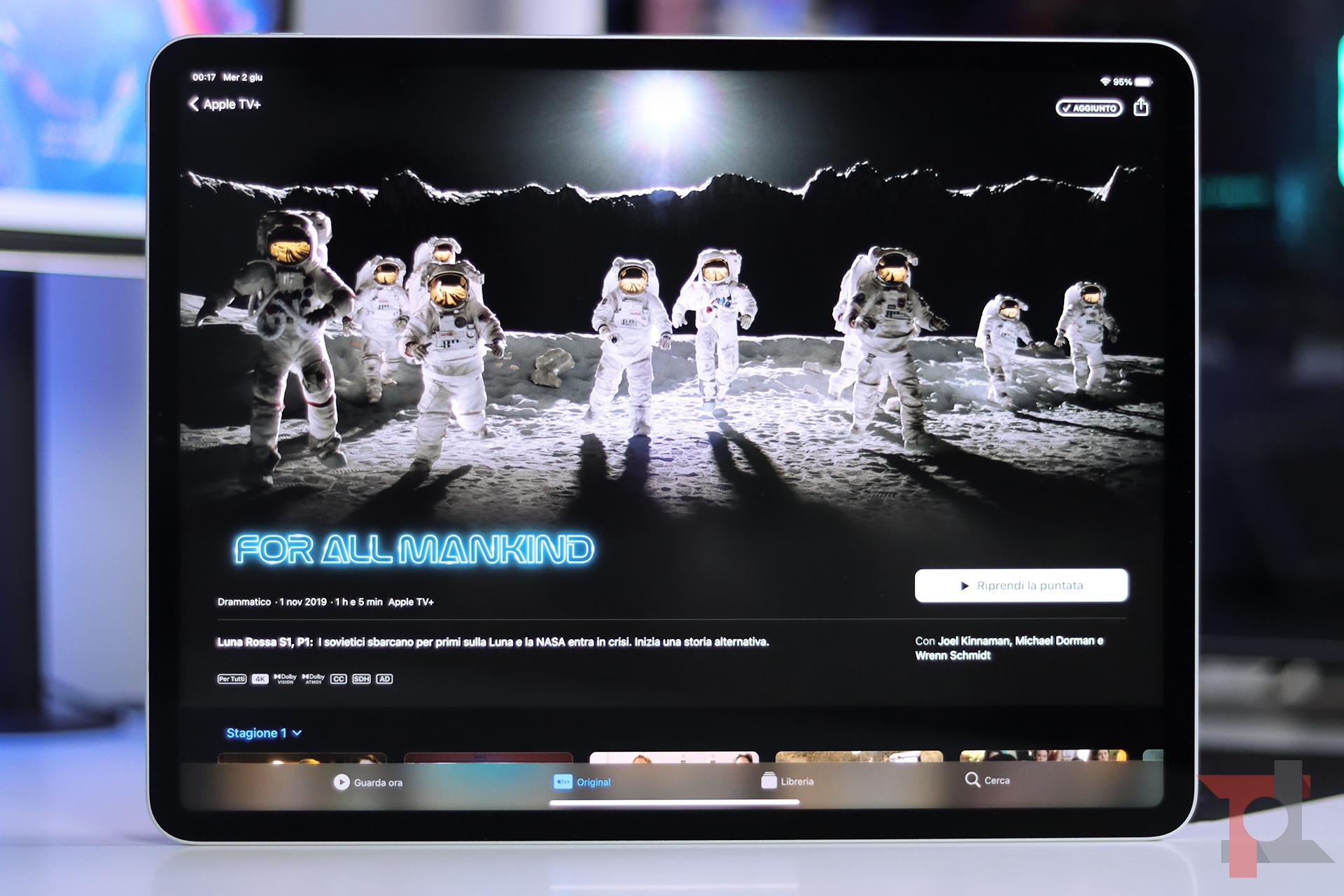 iPad Pro M1 display