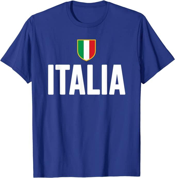 Maglia Italia con scudetto