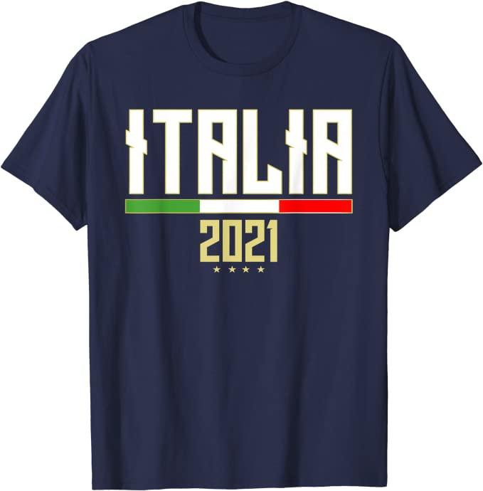 Maglia Italia vincitori Europeo