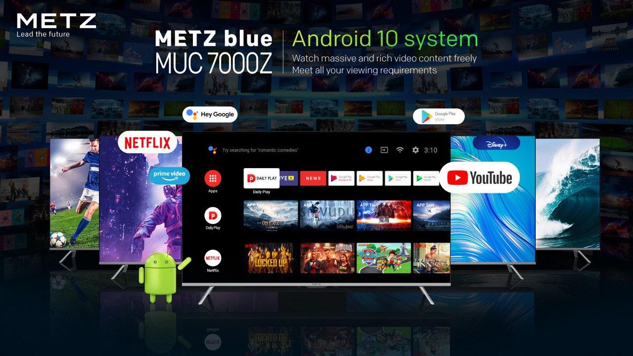 Con METZ MUC7000Z la smart TV diventa Home Theater 2