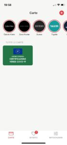 Stocard Green Pass su Apple Wallet