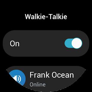 walkietalkie samsung