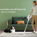 Xiaomi G9 è l'aspirapolvere di qualità al prezzo vantaggioso di Xiaomi 1