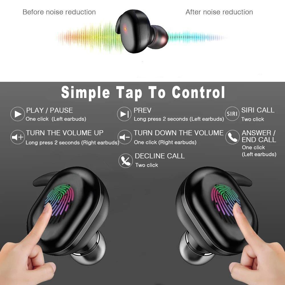 Prezzo bomba per queste cuffie true wireless in offerta su TomTop 4