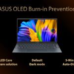 ASUS OLED burn-in