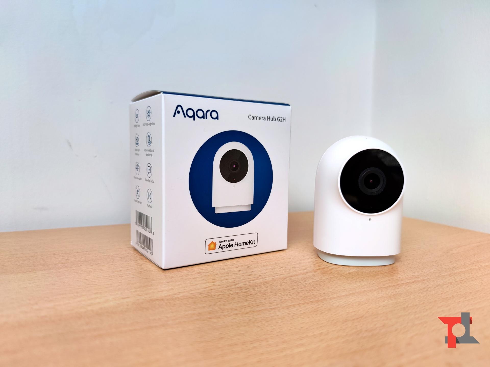 Recensione Aqara Camera Hub G2H e TVOC Air Quality Monitor, la smart home è ancora più semplice 1