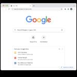 Chrome nuova scheda Drive