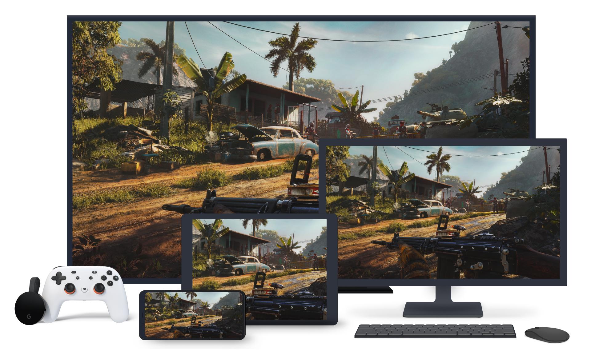 Ubisoft+ disponibile su Google Stadia