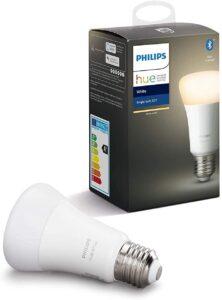 Philips Hue White Lampadina LED Connessa, con Bluetooth, Attacco E27, Dimmerabile
