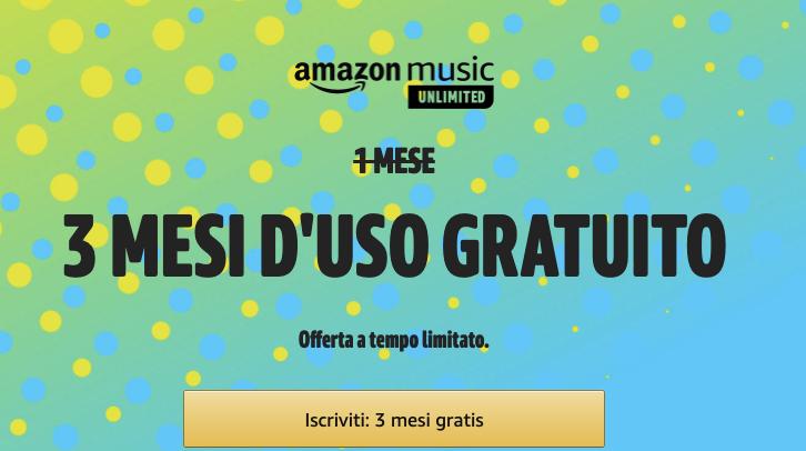 Amazon Music gratis per tre mesi, ecco come averlo 1