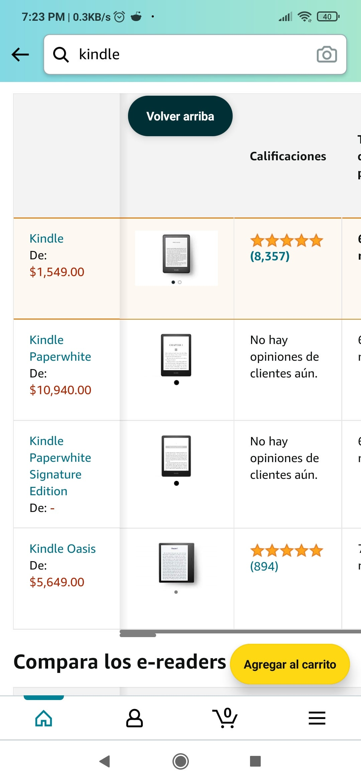 Kindle Paperwhite Signature Edition leak amazon